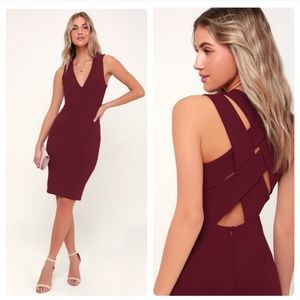 Lulu's Darren Strappy Back Dress